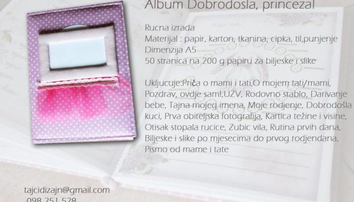 Album Dobrodosla, princeza!